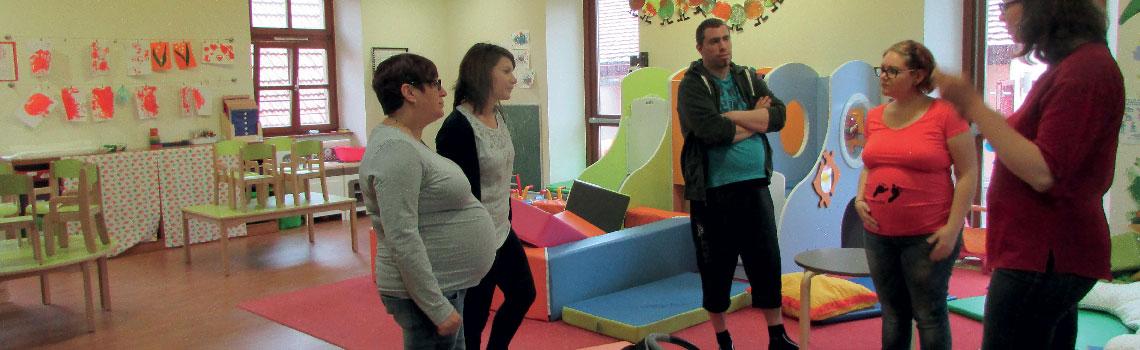 9 MOIS EN MOI  > Après-midi pour les futurs et jeunes parents de bébé de 0 à 6 mois